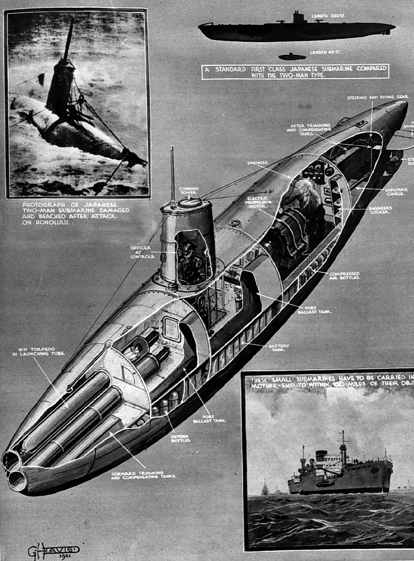 Midget Sub Found In Pearl Harbor 105